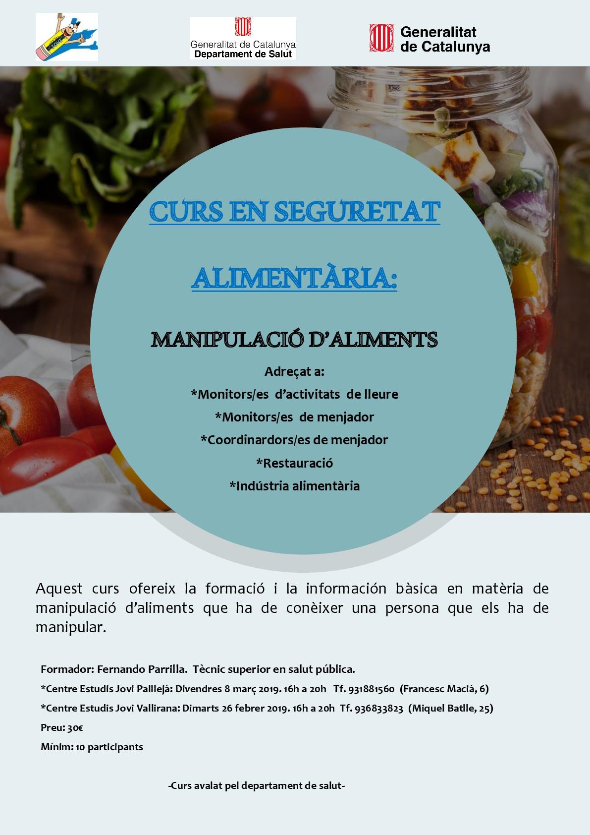 Curs de manipulador d'aliments-001